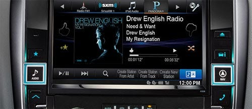 Works with Pandora® Internet Radio for iPhone® and Android™ Smartphones